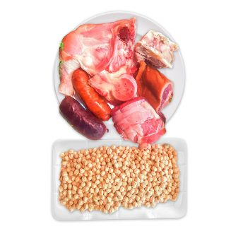 Preparado-de-cocido-completo-con-garbanzo